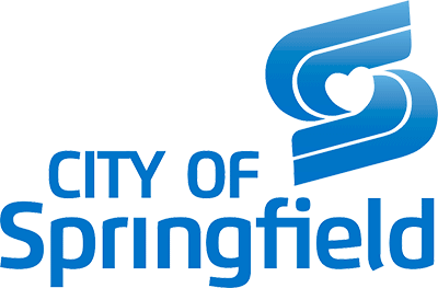 logo - city of springfield with big blue s