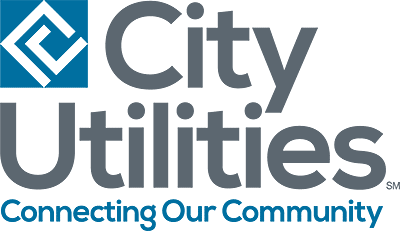 logo - city utilities, connecting our community